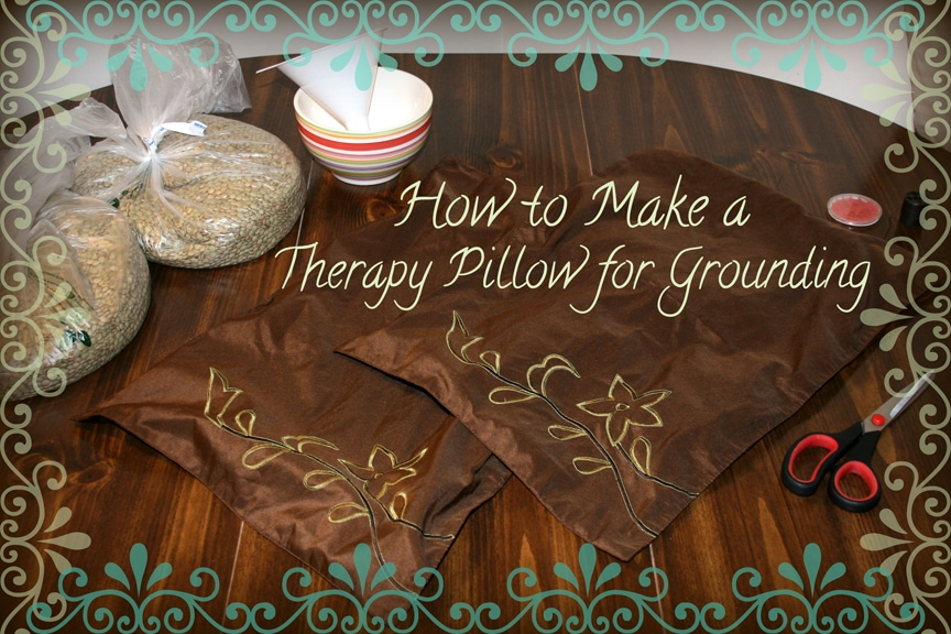 How To Make a Therapy Pillow