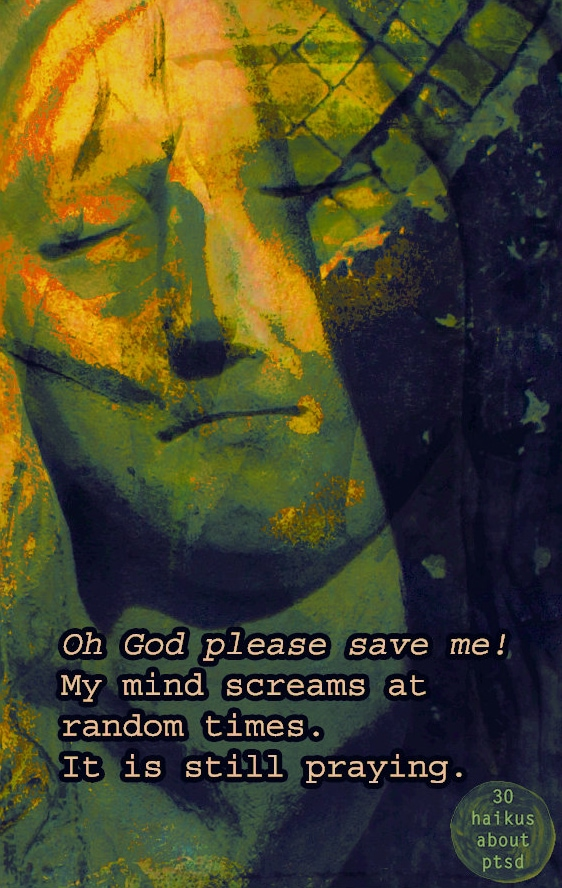 Oh God please save me! My mind screams at random times. It is still praying.