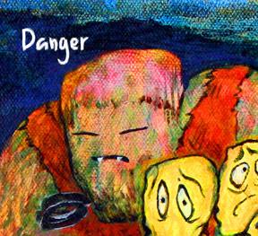 danger monster