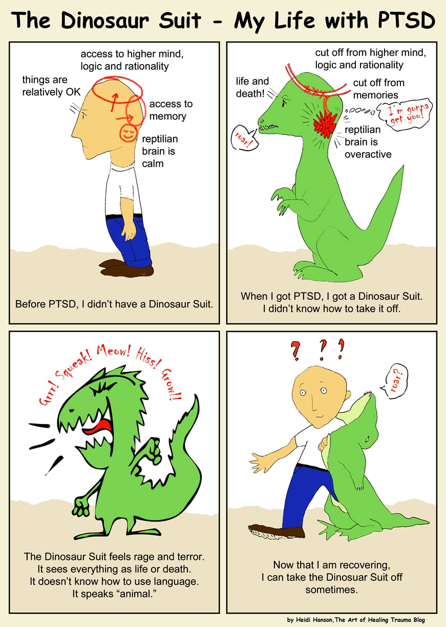 The Dinosaur Suit - My Life with PTSD