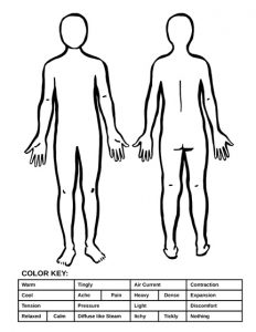 Body Awareness Coloring Page