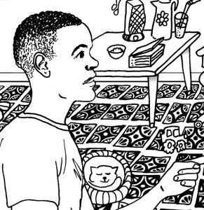 Look for Colors Grounding Activity Coloring Page detail