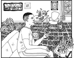 Look for Colors Grounding Activity Coloring Page