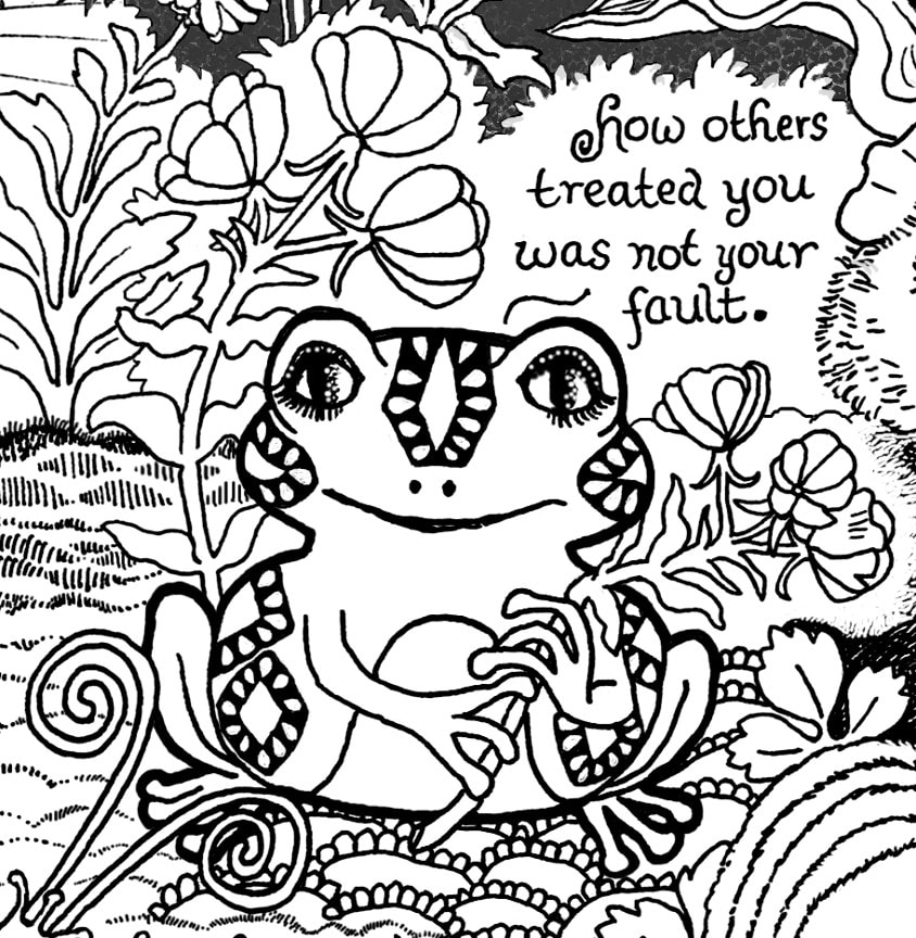 The Art of Healing Trauma Coloring Book-Look Inside the ...