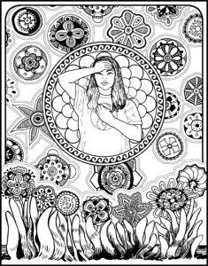 Self-Holding Step 3 Coloring Page