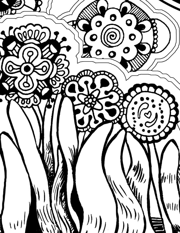 Top 20 Free Printable Pattern Coloring Pages Online | 792x612
