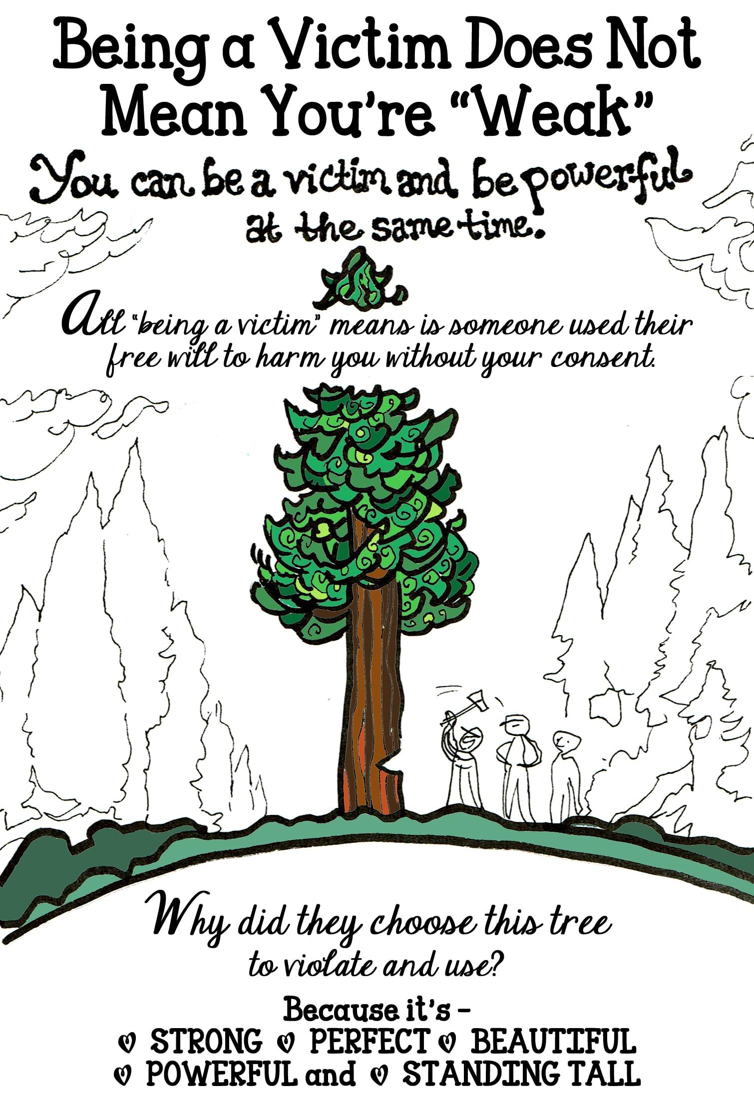 victim tree